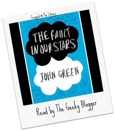 Reviews the fault in our stars book